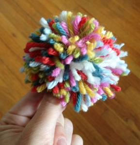 finished pompom