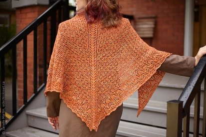 Sinuosity Shawl