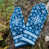 First Snow Mittens