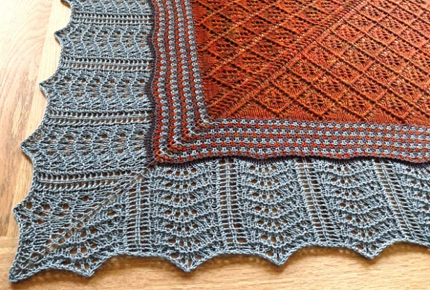 Notions of Colour Shawl